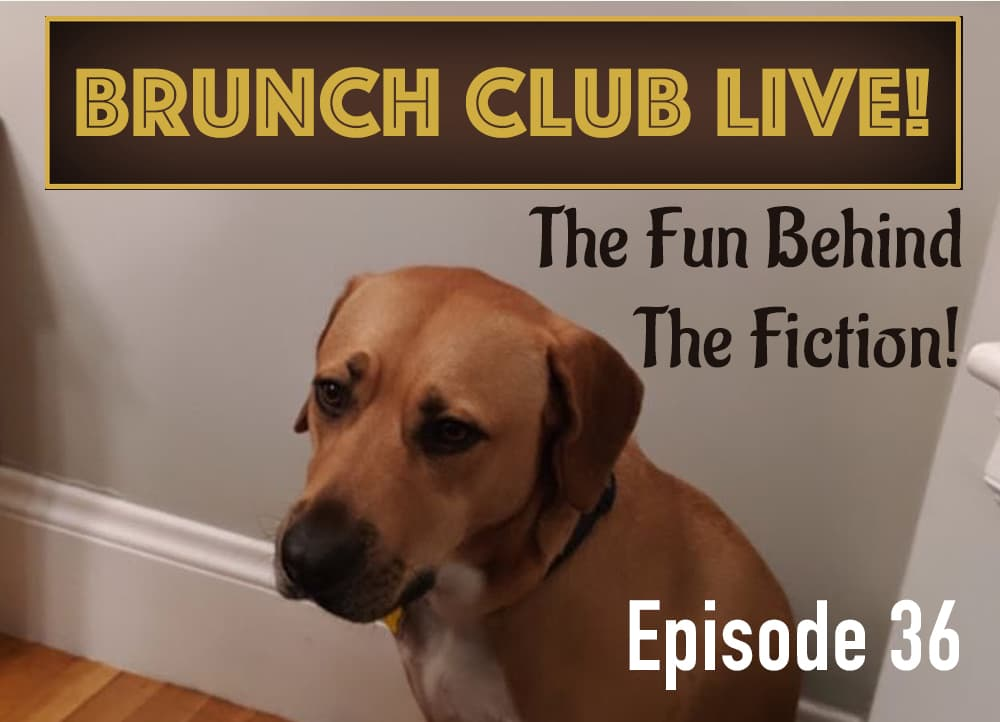Brunch Club Live Episode 36 cover with cute dog