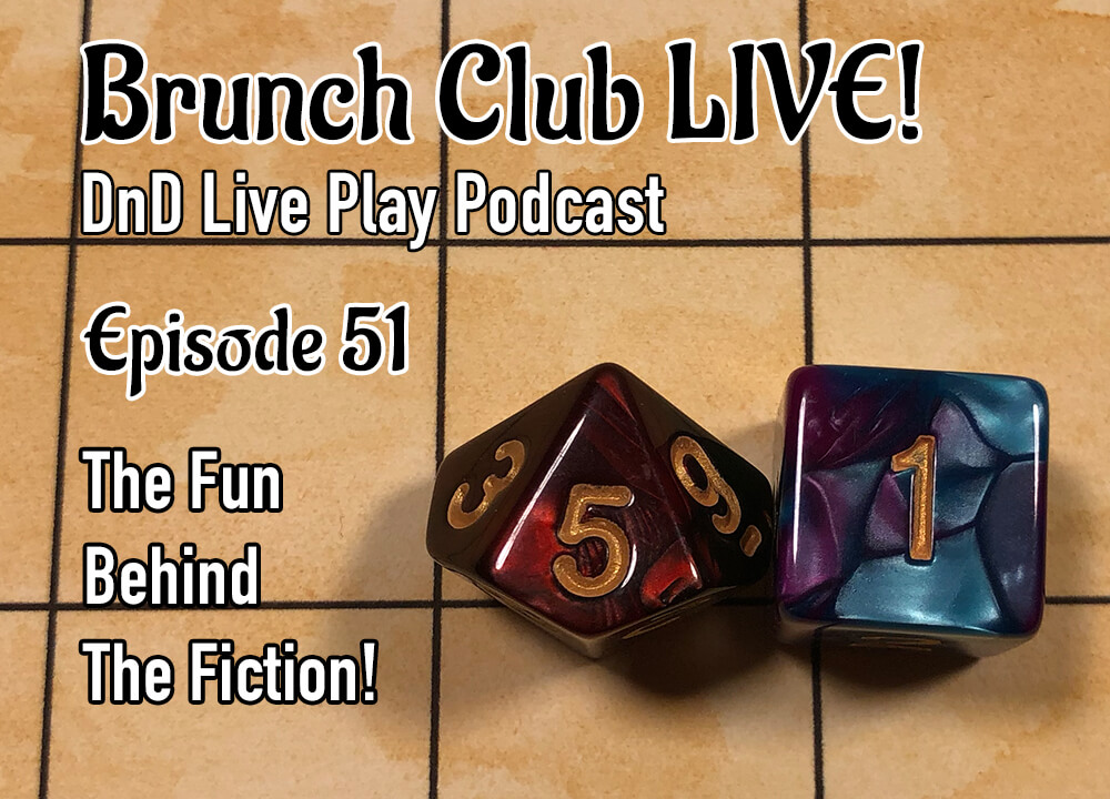 DnD dice DnD podcast cover