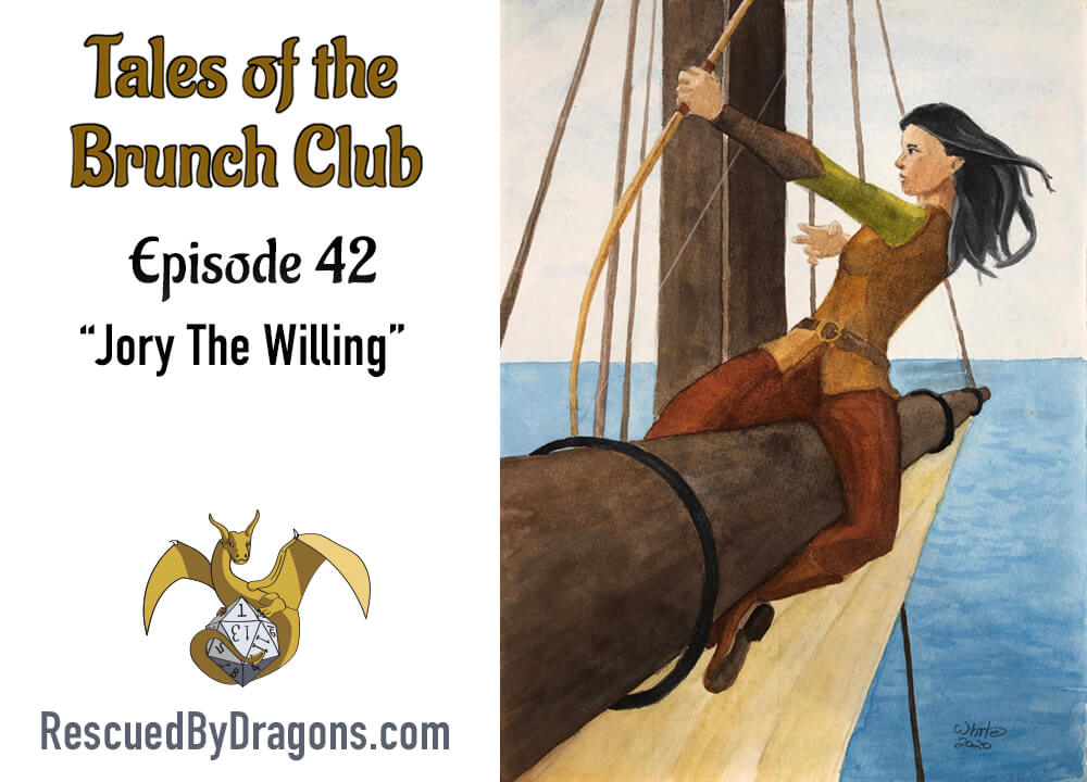 Cover art for fantasy fiction podcast episode 42