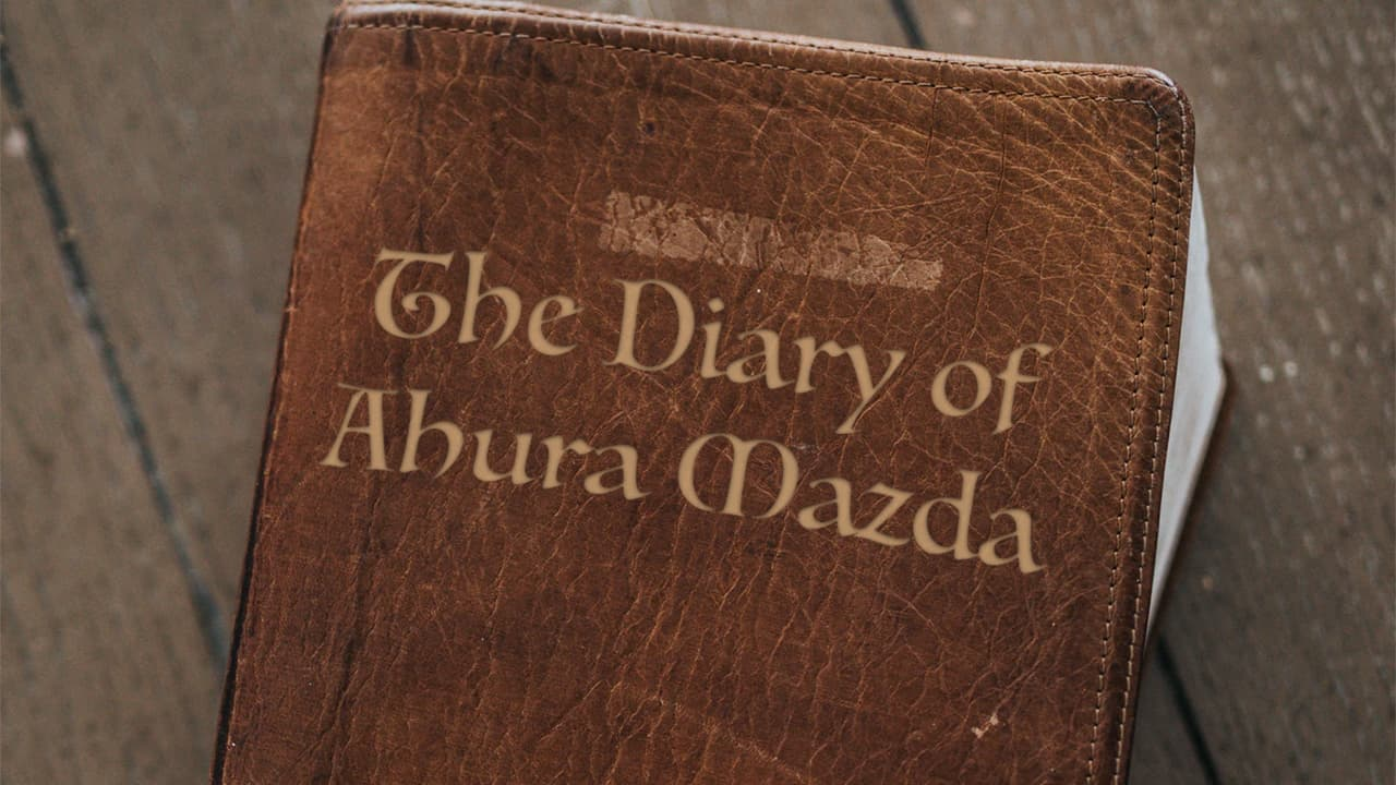 The Diary of Ahura Mazda Cover Art